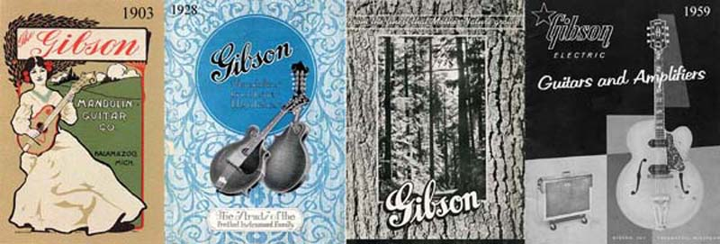 Gibson guitars, gibson catalogs, Gibson Guitar-Mandolin, Catalog E